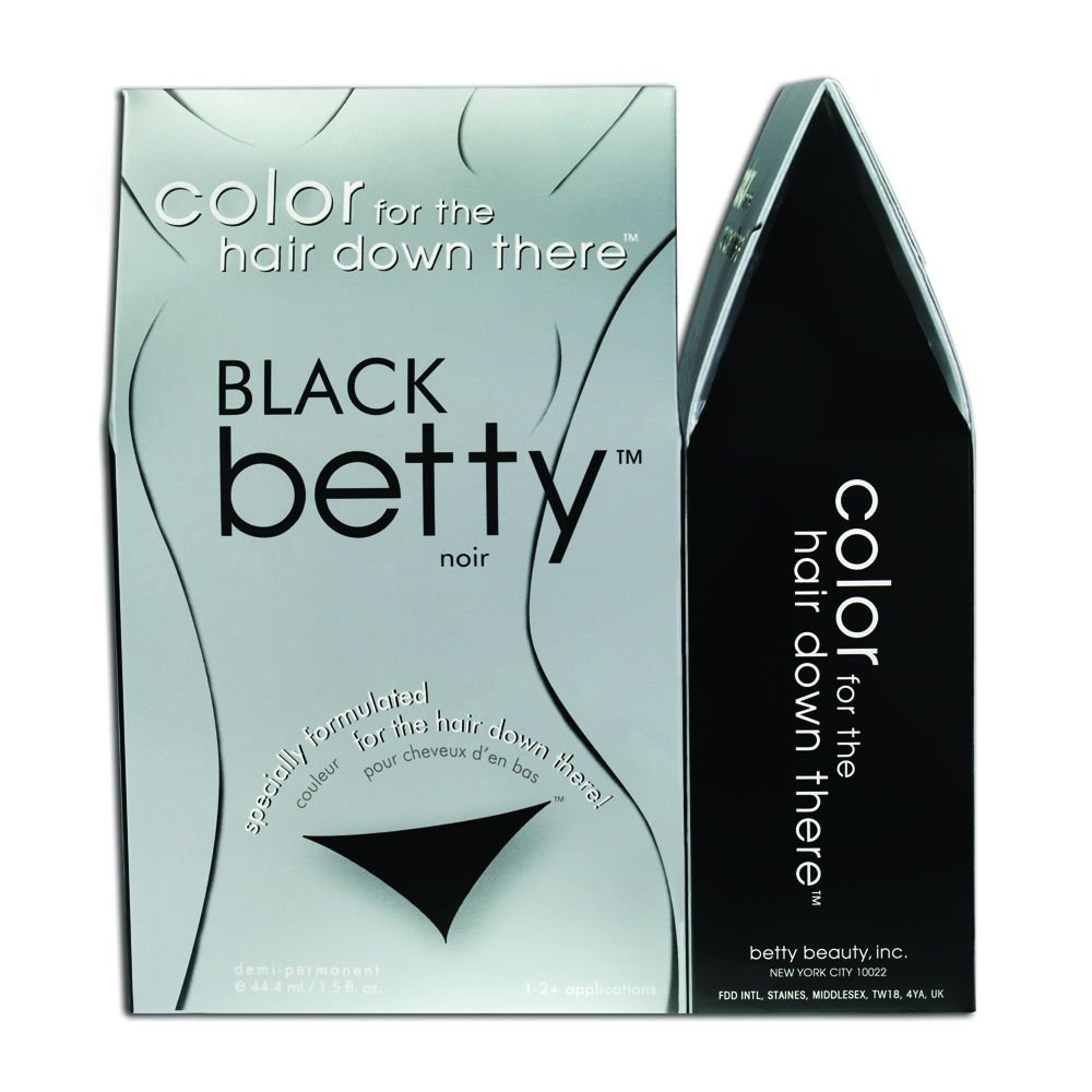 Amazon.com: Betty Beauty Color for the Hair Down There - Brown ...