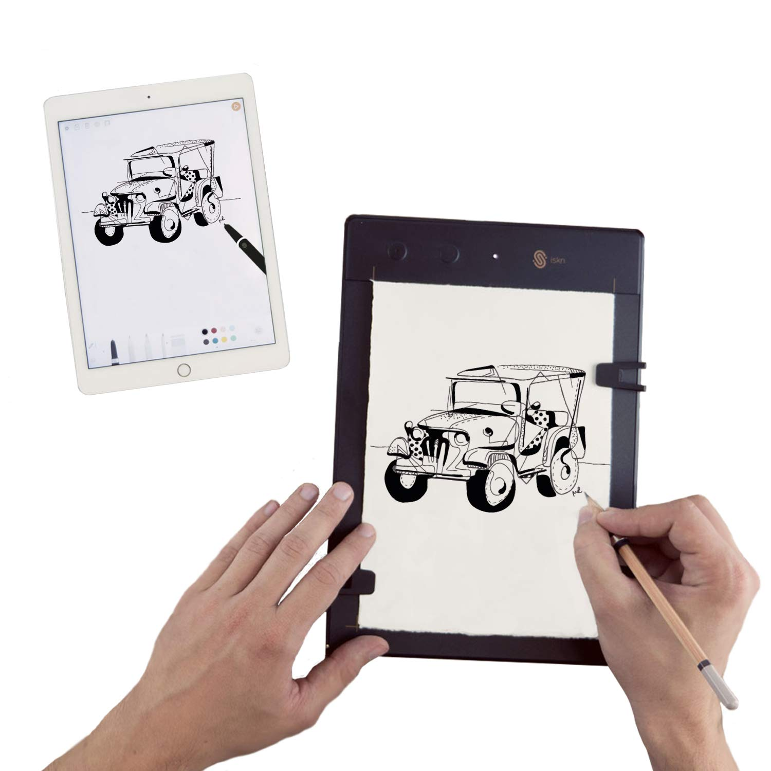 Amazon com iskn the slate 2 pencil paper graphic tablet computers accessories