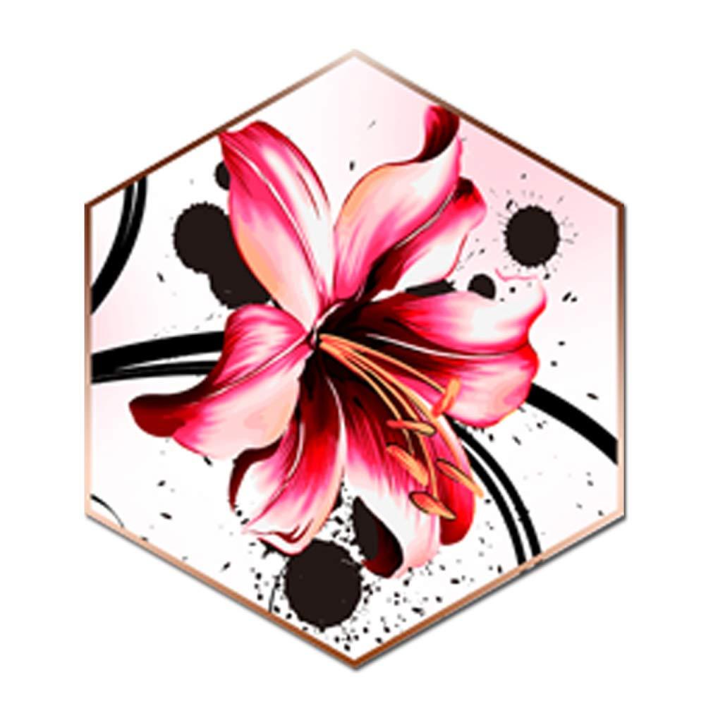 5d Pintura Por Diamantes (itm27647) Flor