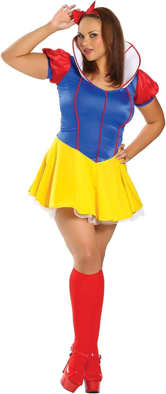Amazon Com Sexy Snow White Adult Costume X Large Clothing