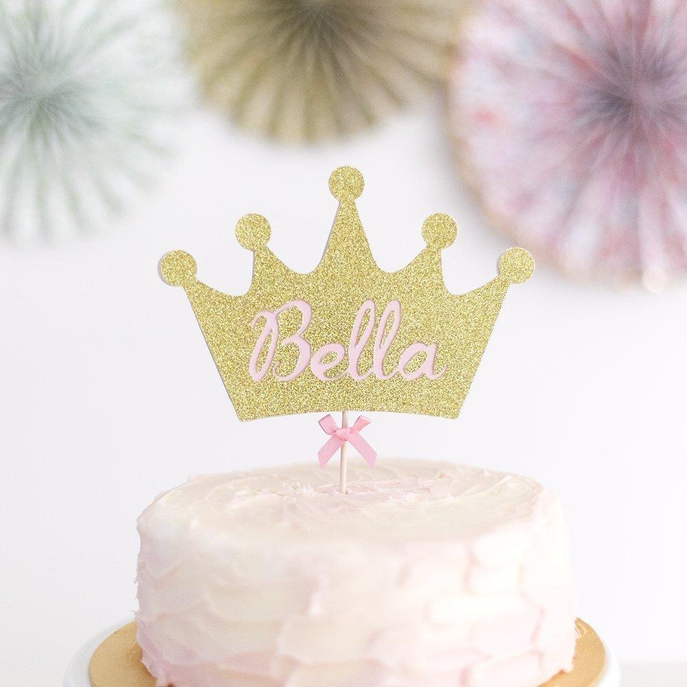 Phenomenal Princess Crown Cake Topper Fairy Princess Crown Cake Topper Birthday Cards Printable Benkemecafe Filternl