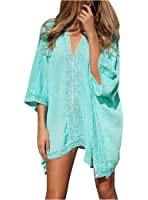 Walant Womens Solid Oversized Beach Cover Up Swimsuit Bathing Suit Beach Dress