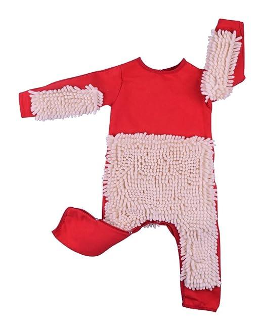BabyTown - Pelele - para bebé niño Rojo Rojo 80 cm