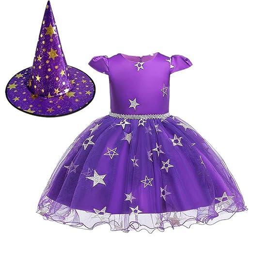HS-ZM-06 Falda del Vestido De Halloween Estrellas 0-8Y De La Falda ...