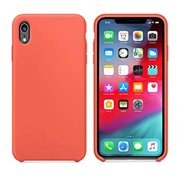 Apple iPhone XR Silicone Case High Quality Slim *Genuine Cover