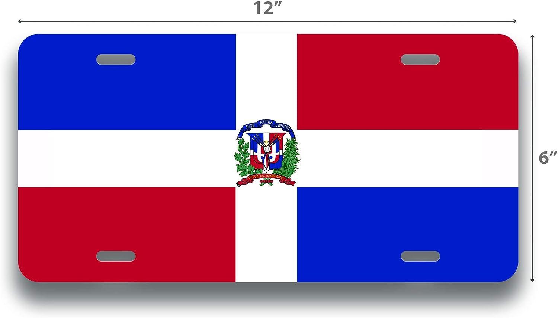Dominican Republic Flag License Plate Frame Tag Holder Cover Fastasticdeals Dimelo Ke Lo Ke