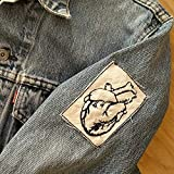 Embroidered Vintage Graphic Vintage Tattoo Style