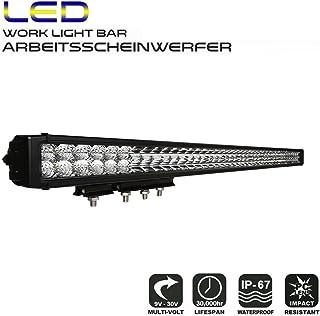 AFTERPARTZ LED Arbeitsscheinwerfer Bar CREE Chips 20650LM Combo Reflektor Scheinwerfer Arbeitslicht (36' D4)