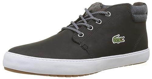 a5a8795db43d55 Lacoste Men s Ampthill Terra 318 1 Cam Trainers  Amazon.co.uk  Shoes ...
