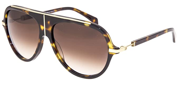 921285a905bb89 Image Unavailable. Image not available for. Colour: BALMAIN BL 2104  Tortoise Gold Gradient Aviator Sunglasses ...