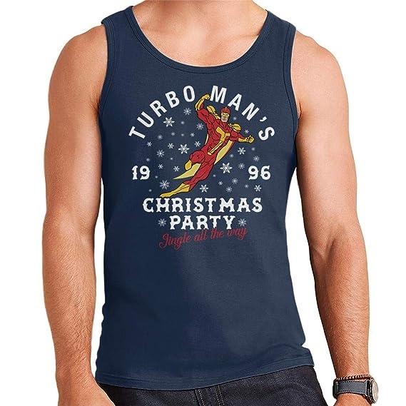 Jingle All The Way Turbomans Christmas Party Mens Vest: Amazon.es: Ropa y accesorios