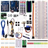 Longruner UNO Project Basic Starter Kit with Tutorial and UNO R3 for Arduino (USB Cable)