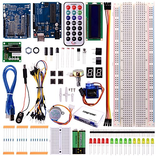 Longruner UNO Project Basic Starter Kit with Tutorial and UNO R3 for Arduino (USB Cable) by Longruner