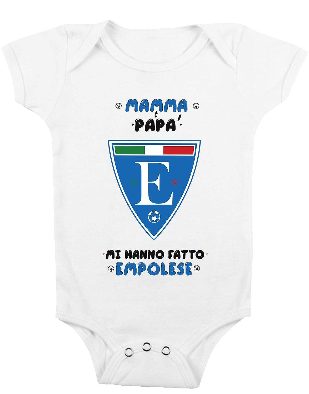 t-shirteria Body Neonato Mamma e pap/à Mi Hanno Fatto empolese Taglie da 0 a 24 Mesi