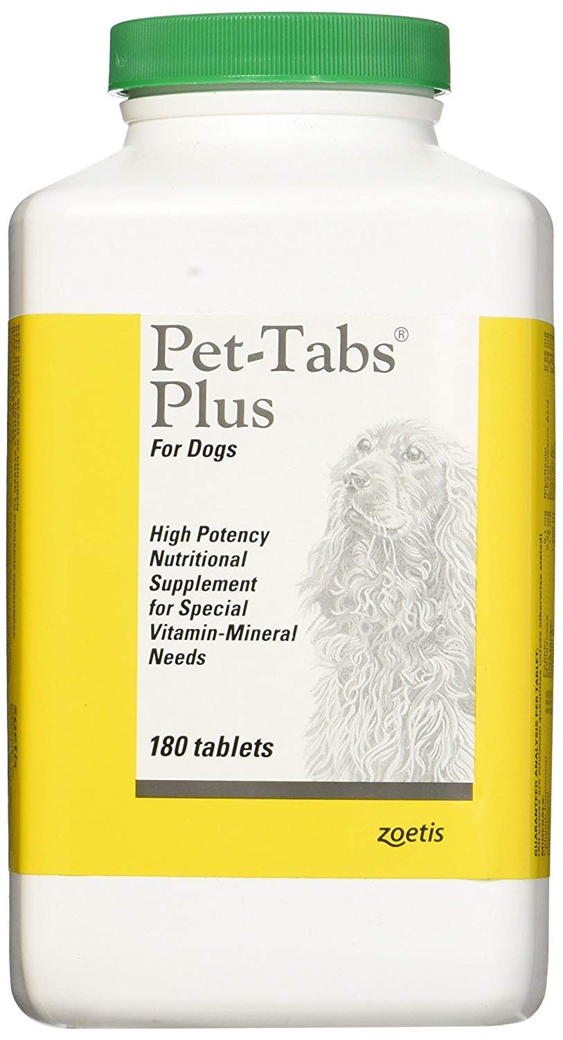 Pet-Tabs Plus For Dogs - 180 Tabs by Pet-Tabs