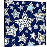 greatBIGcanvas Gallery-Wrapped Canvas Entitled Teen Collection - Star Bright Peter Horjus 16''x16''