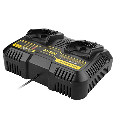 Ocamo 10.8V-20V Cargador de batería de Doble Puerto para ...