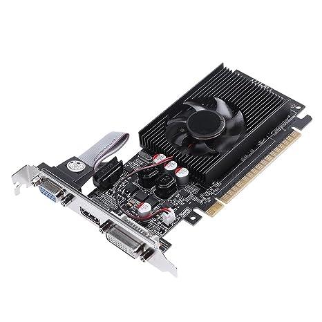 Tarjeta gráfica de vídeo de Juego, LiChiLan GT730 2G DDR3 ...