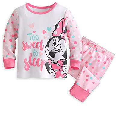 703cf951a Image Unavailable. Image not available for. Color: Disney Minnie Mouse PJ  PALS Pajama Set for Baby Girl 6-9 Months Pink