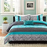 Mi-Zone Chloe Comforter Set, Twin/Twin X-Large, Teal