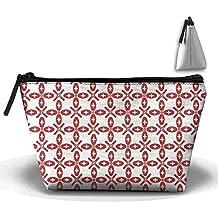 Switzerland Texture Flag Cosmetic Bag Makeup Bags Pouch Stationery Bag Pencil Base Learning Bools Handbag Organizer Bag