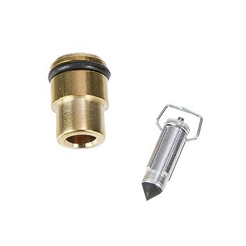 Mikuni flotador Válvula de aguja para VM16 Carburador: Amazon.es: Coche y moto