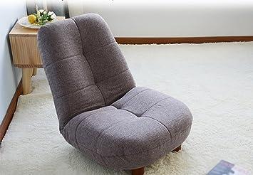GRJH® Sitzsack, Wohnzimmer Schlafzimmer Balkon Liegestuhl Rückenlehne Stuhl  Modern Simple Single Stuhl Tragbar,