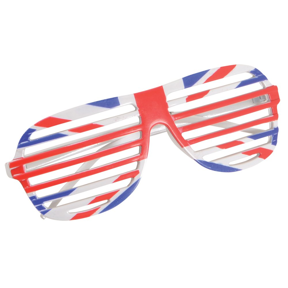 b7d029b38da G.B Glasses Shutter Design Outfit Accessory for Rapper Fancy Dress ...