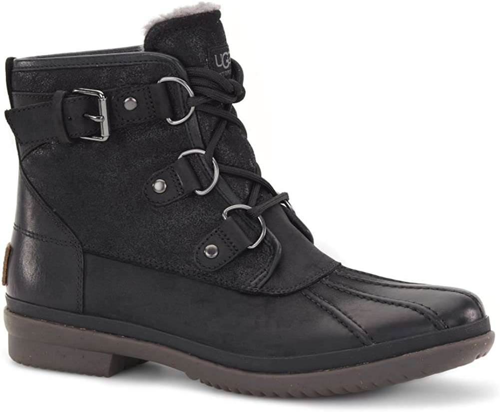Ugg Australia Womens Cecile Leather Boots