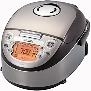 Tiger IH rice cooker