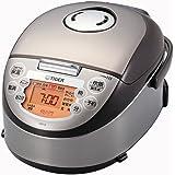 タイガー IH 炊飯器 3合 ブラウン 炊きたて ミニ 炊飯 ジャー JKO-G550-T Tiger