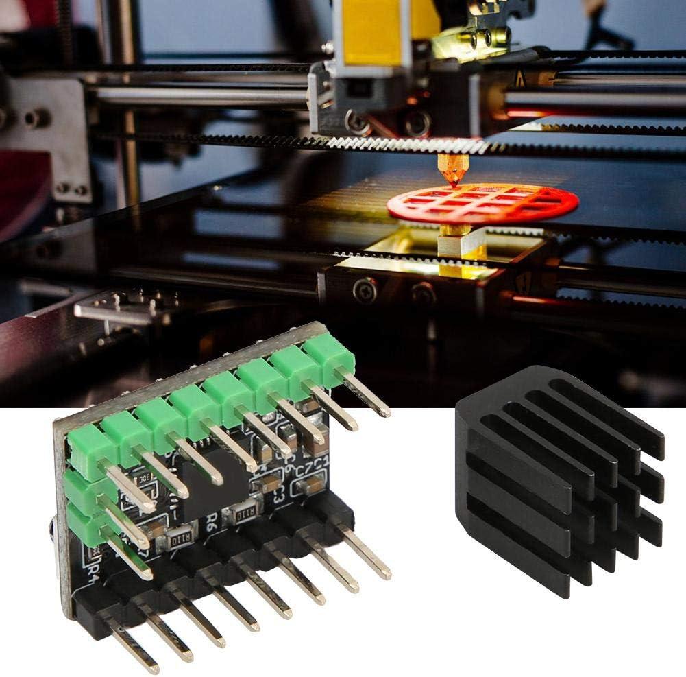 Driver Della Stampante 3D Scheda del Modulo Driver Parti Della Stampante 3D Accessori Per Macchine da Stampa Piastra in Alluminio Elettronica con Dimensioni Perfette e Garanzia di Qualit/à