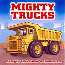 Mighty Trucks Stencil Book