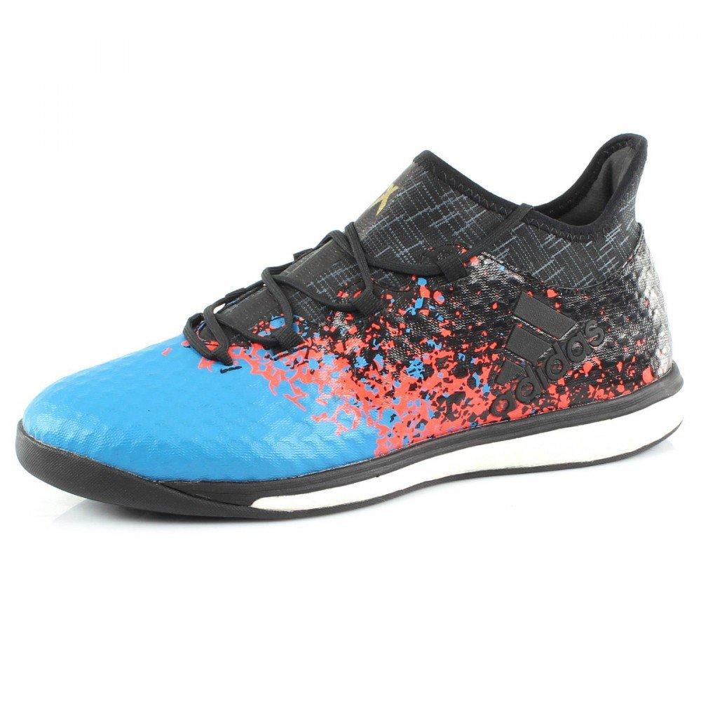 Adidas X 16.1 Paris Pack Street Fußballschuh - core schwarz core schwarz Shock Blau s16