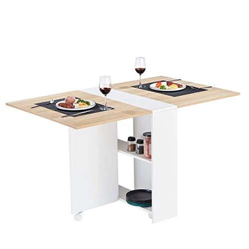Tiptiper Folding Dining Table