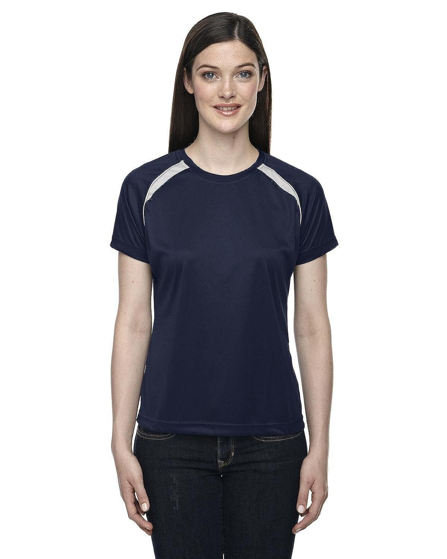 North End Ladies' Athletic Crew Neck>L CLASSIC NAVY 78068