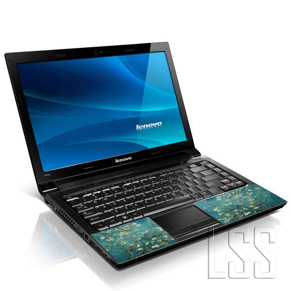 LSS 15 15.6 Pollici Laptop Notebook Skin Cover adesiva Decal Adatta per 13.3 14 15.6 16 HP Dell Lenovo Apple Asus Acer Compaq Almond Trees 2 adesivi sotto polsi inclusi gartuitamente