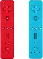 Yosikr Wireless Remote Controller for Wii Wii U - 2 Packs