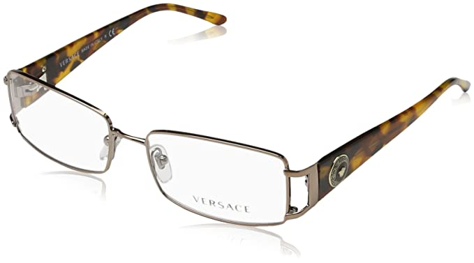 Amazon.com: Versace VE1163M Eyeglass Frames 1013-52 - Dark Copper ...