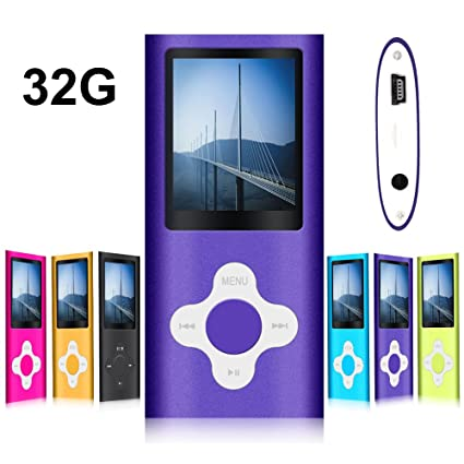 Amazon.com: G.G.Martinsen Plum Button 1.78 LCD Screen MP3/MP4 ...