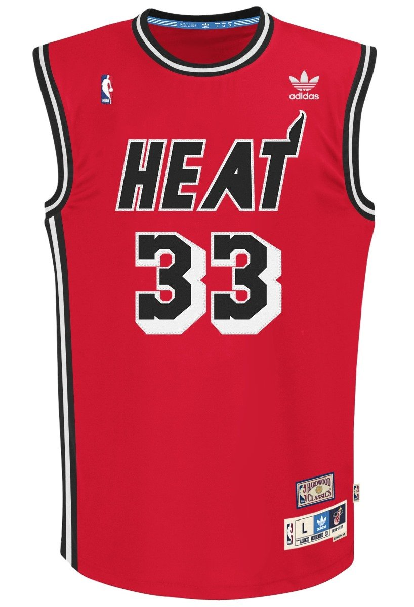 huge selection of 63e2c df4c8 adidas Miami Heat #33 Alonzo Mourning NBA Soul Swingman Jersey, Red