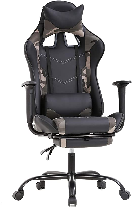 Executive Office Chair Gaming Chairs Swivel Desk Sport Computer Recliner Leather