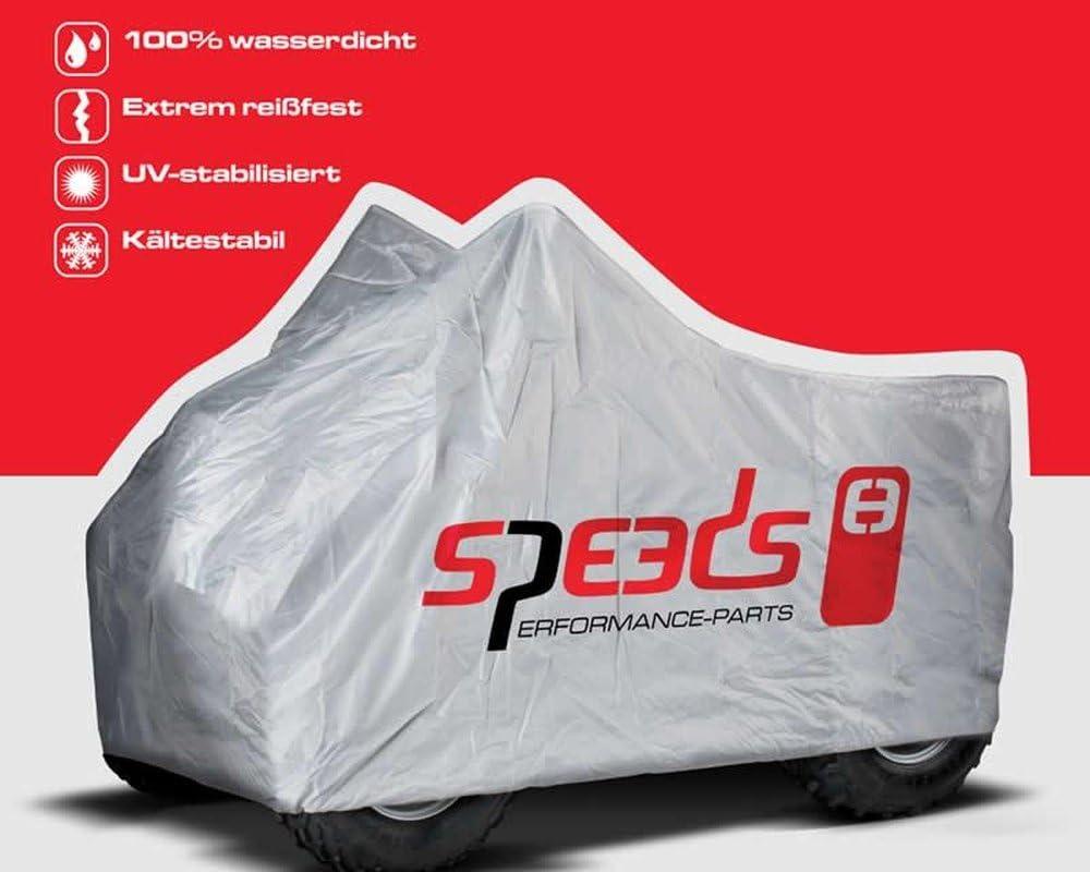 Quad B/âche de protection SPPEDS de dimentions 226x127x120cm pour BOMBARDIER DS 650cc