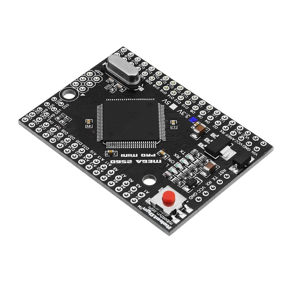 ILS Mega2560 PRO mini modulo 3.3V ATmega2560-16AU NO Spina Development Board Per Arduino