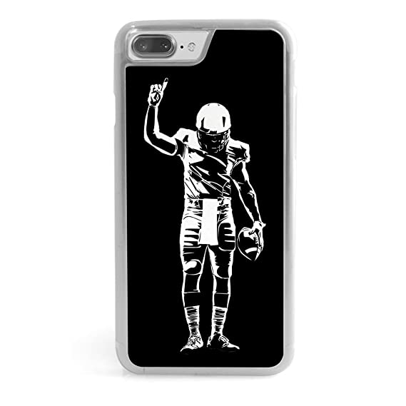 new product 69934 b1adc Football iPhone 6/6S Case | Number One Player | Black