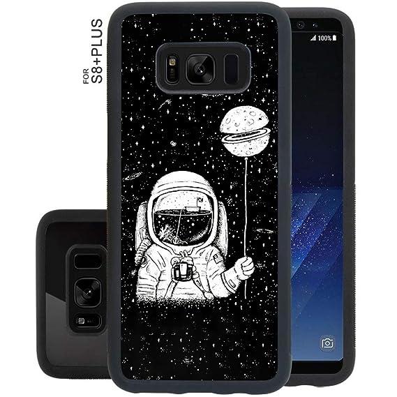 Amazoncom Obesty Astronaut Wallpaper Black Phone Case For