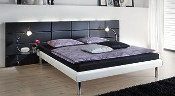 Lifestyle4living Bett Modellname Soft Line In Weiss Kopfteil