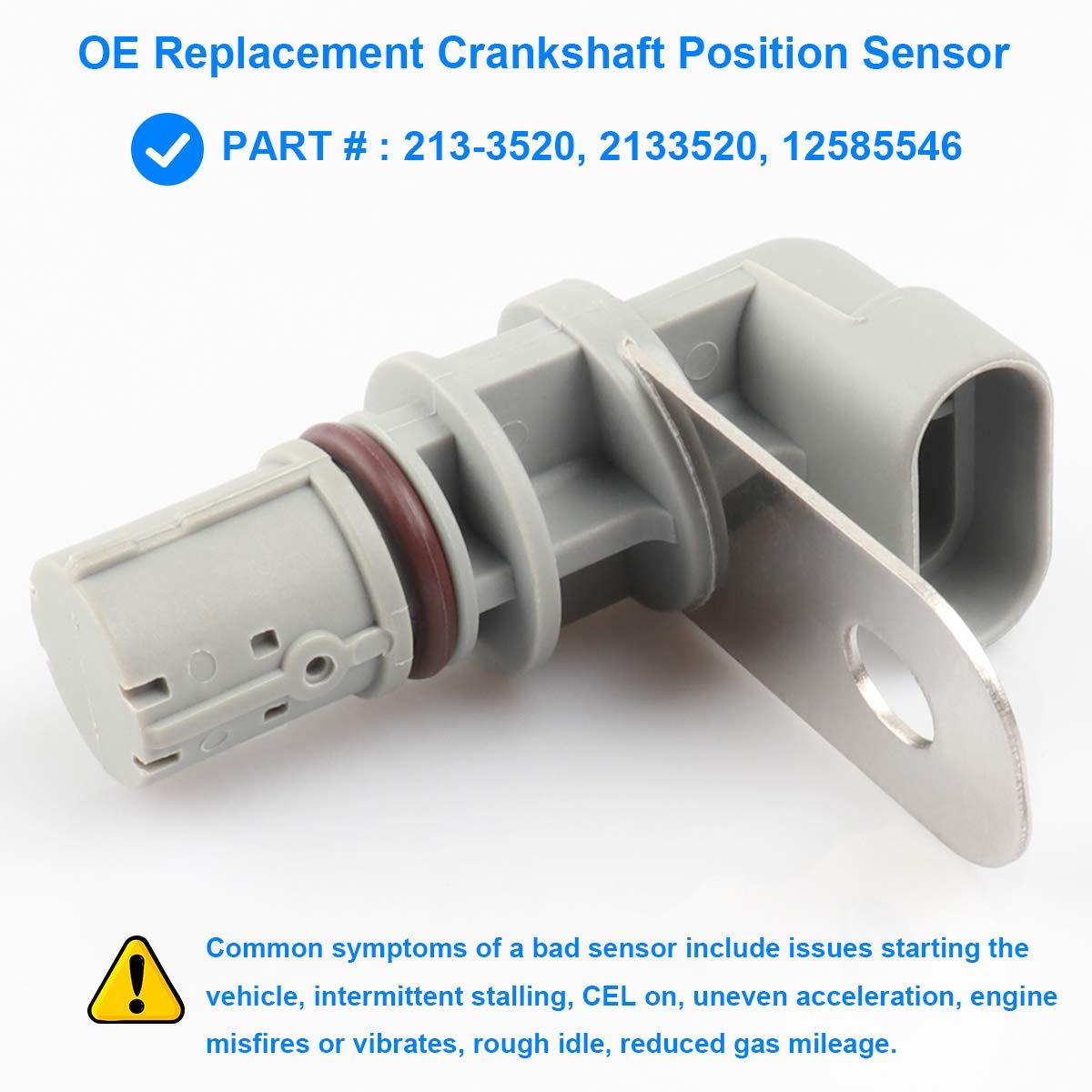 Amazon com: Crankshaft Position Sensor, Crank Position