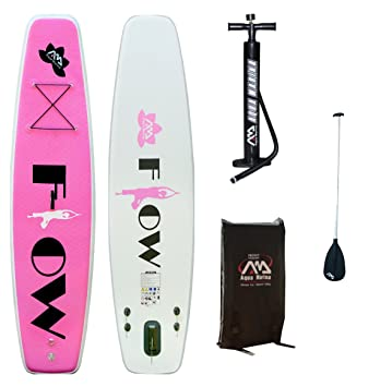 Aqua Marina flujo Yoga/Fitness inflable dos valemucho SUP Stand Up Paddle Board: Amazon.es: Deportes y aire libre