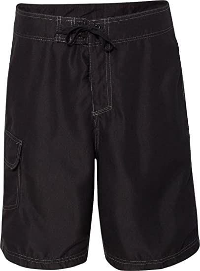 f1d56e5e68 Amazon.com: Burnside Mens Solid Board Shorts (9301): Clothing